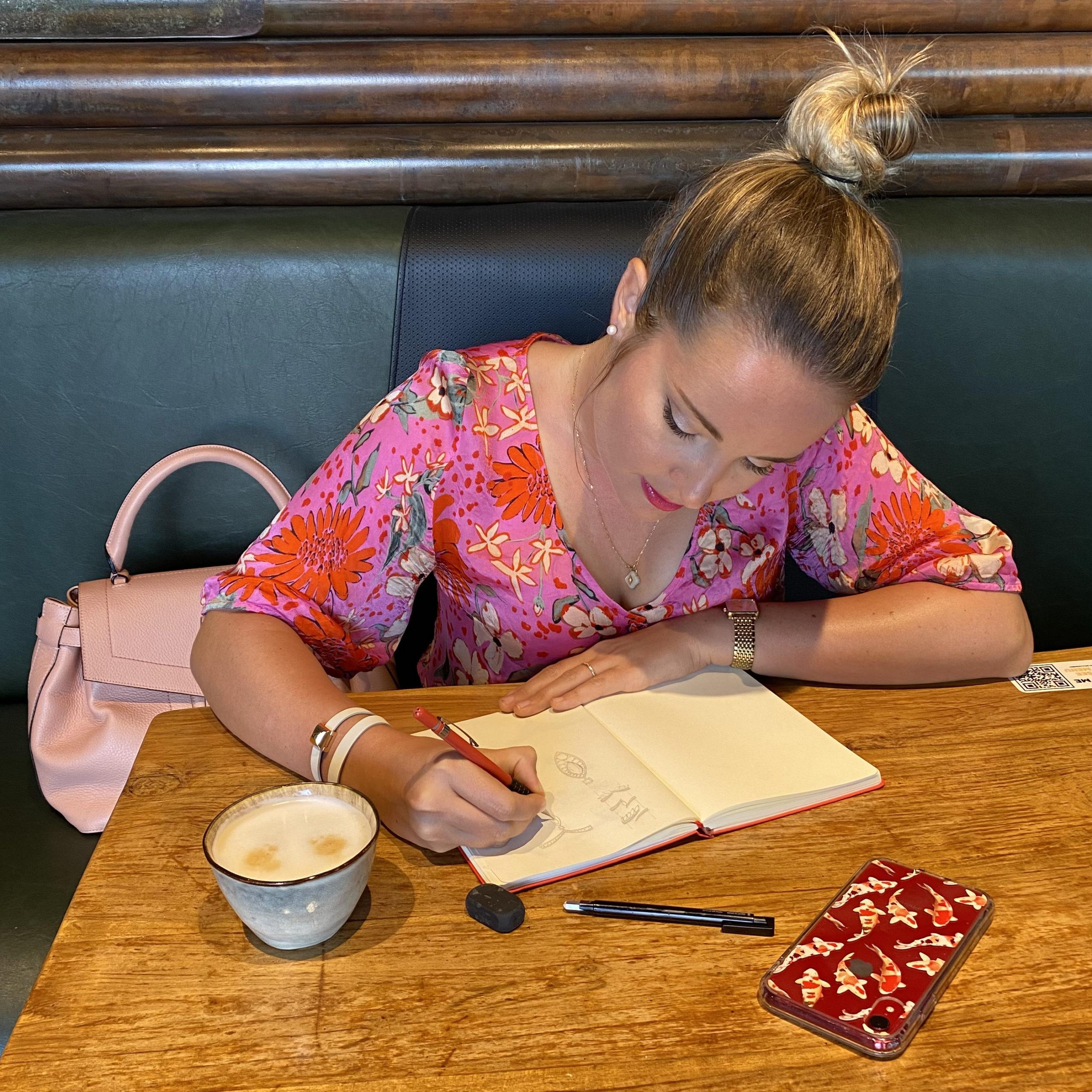 Pause dessin café