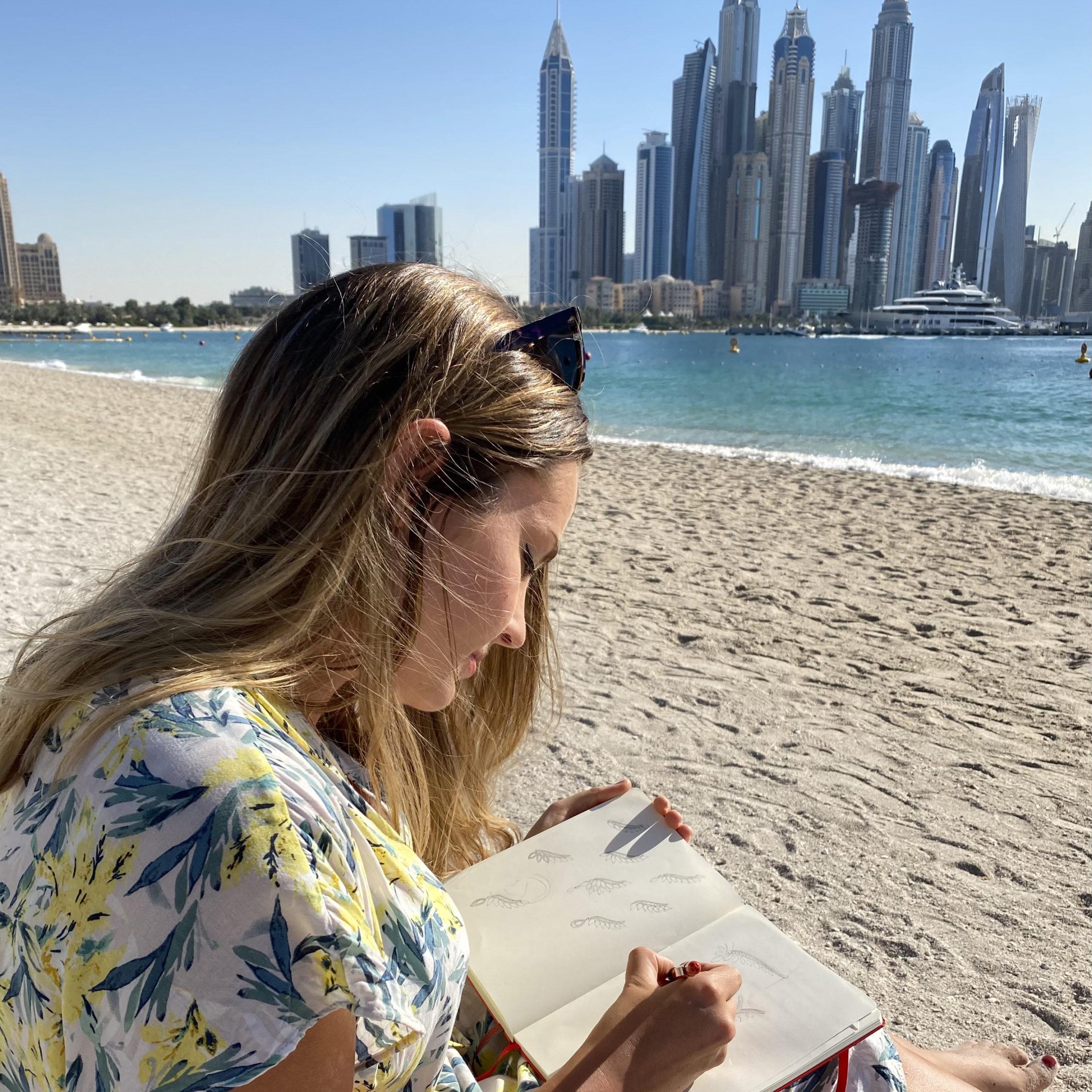 Pause dessin Skyline Dubai